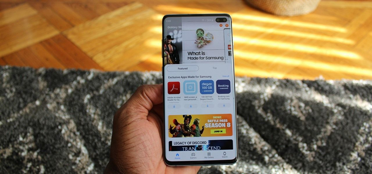 Auto-Hide the Navigation Bar on Your Galaxy S10 — No Root