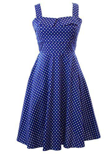 Sidecca Retro 1950s Polka Dot Empire Swing Plus Size Dress-Royal-X-Large Sidecca http://www.amazon.com/dp/B00KNU20OG/ref=cm_sw_r_pi_dp_.rA3ub0DBPA6C