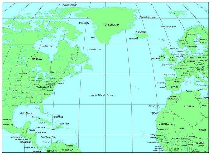mapofatlanticocean6jpg 800589 pixels  My Country Tis Of