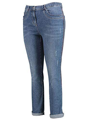 fb93378cae512 SAMOON Damen Jeans Betty 7/8 Länge Plus Size schwarz (15) 50 | Jeans ...