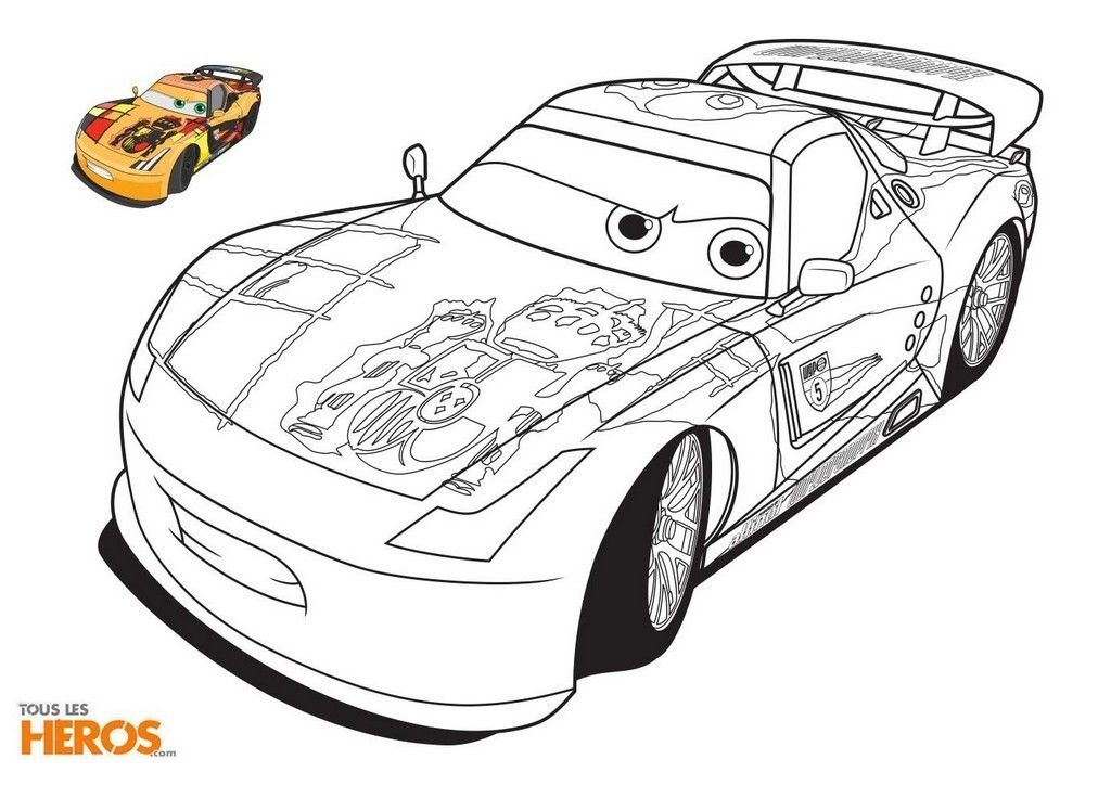Coloriage De Cars Cute Coloring Pages Cars Coloring Pages Art Drawings For Kids