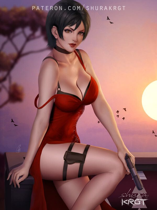 Pin by BadSport on **BAD GIRLS** | Ada wong, Resident evil