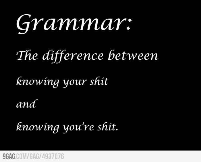 Importance of Grammar | Funny quotes, Words