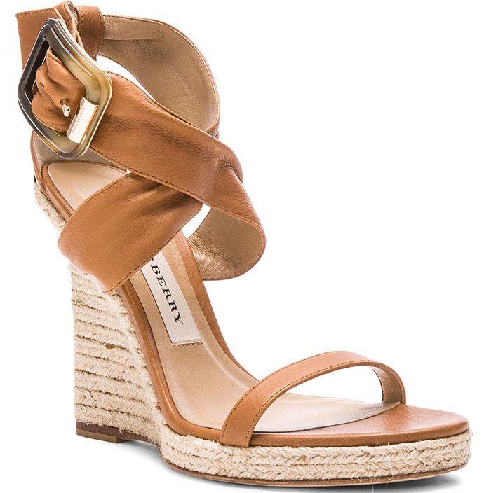 "fe5b4609e72 Burberry London Leather ""Catsbrook"" Espadrilles | Shoes | Burberry ..."