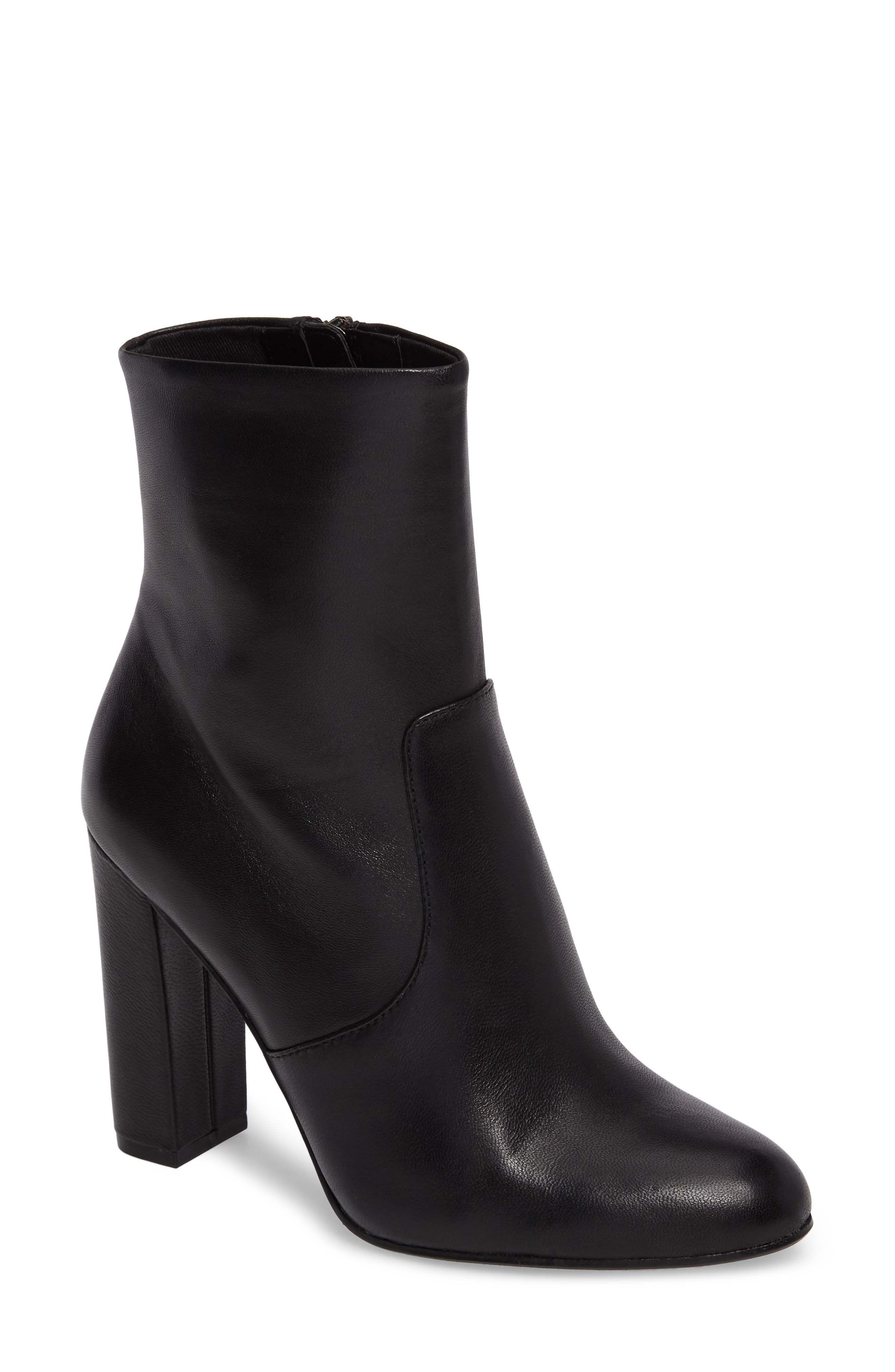 f1c3fd9dceb84 STEVE MADDEN | Editor Block Heel Bootie #Shoes #Boots #STEVE MADDEN ...