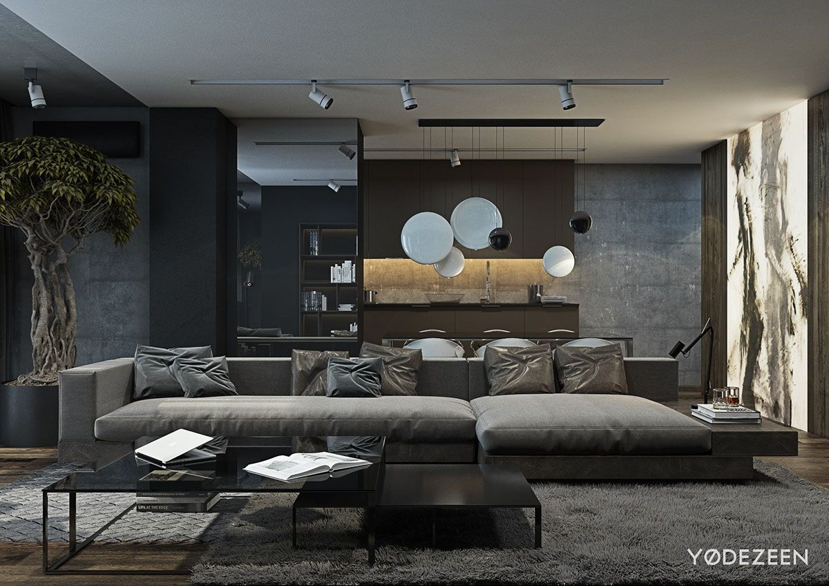 Sofa Mart The main living area is fairly spacious with a huge fortable sofa from Minotti
