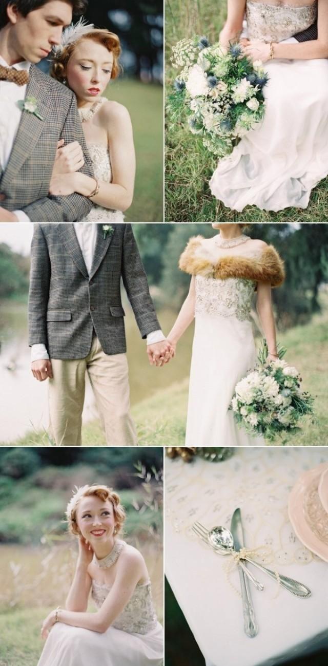 inspired hochzeit madisons vintage style wedding