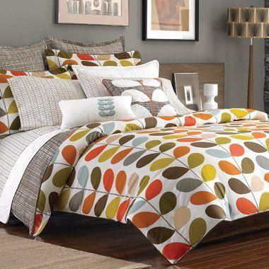 Orla Kiely Twin Comforter And Standard Pillow Sham By Orla Kiely Http Www Amazon Com Dp B00cuhil34 Ref Cm Sw R Pi Orla Kiely Bedding Orla Kiely Bedroom Home