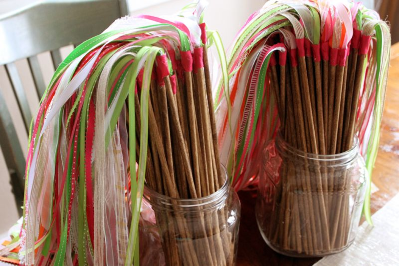 Ribbon Wands To Use For Easter Or Creation Sunday