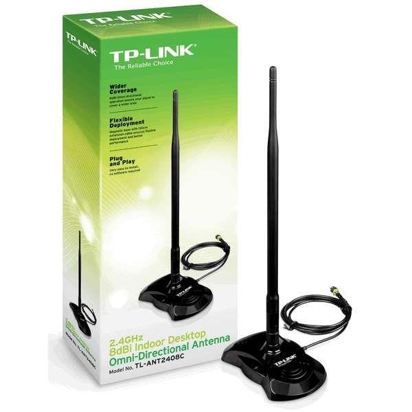 2 4ghz 8dbi Indoor Desktop Omni Directional Antenna Tl Ant2408c Wireless Gadgets Tp Link Antenna