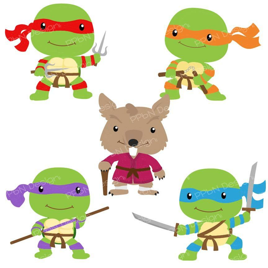 Title Com Imagens Tartarugas Ninjas Ideias Criativas Para