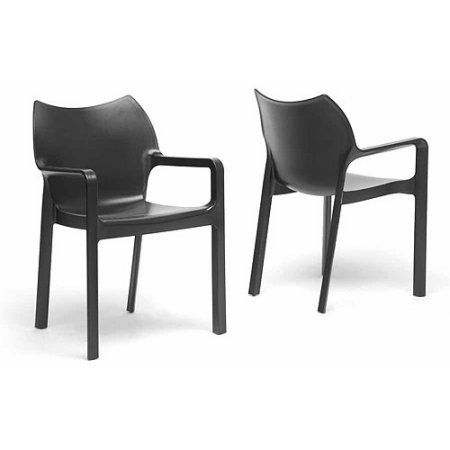 Wholesale Interiors Limerick Plastic Stackable Modern Dining Chair