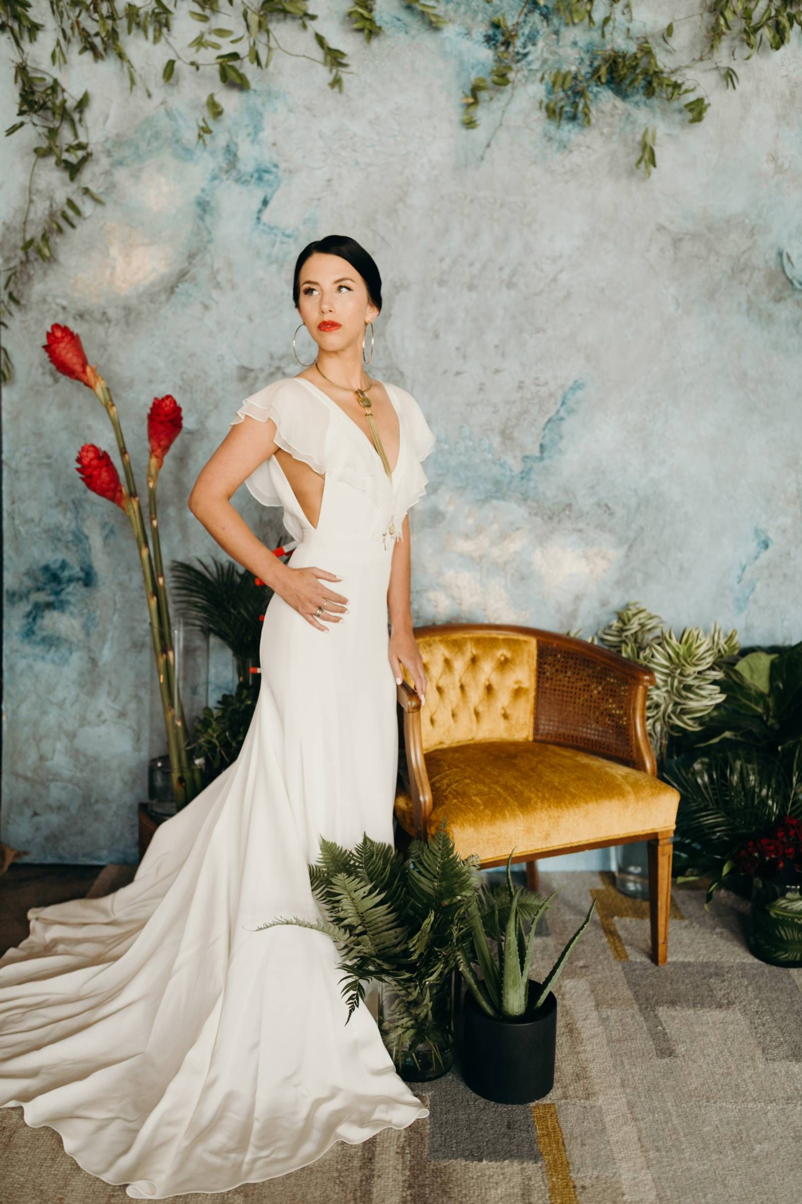 9578149444 Cuban Inspired Wedding Dress Collection by Gretchen Dawley