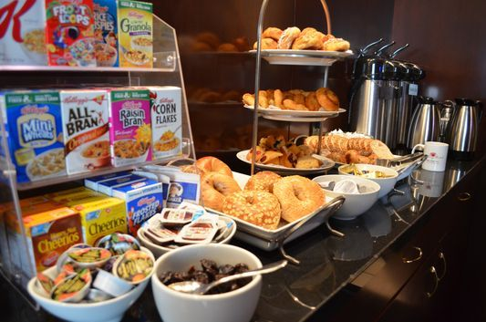 Crazysexyfuntraveler Alexandra Recommends To Stay At Romantic Library Hotel And It Is Not The Only Breakfast Buffet Library Hotel Complimentary Breakfast