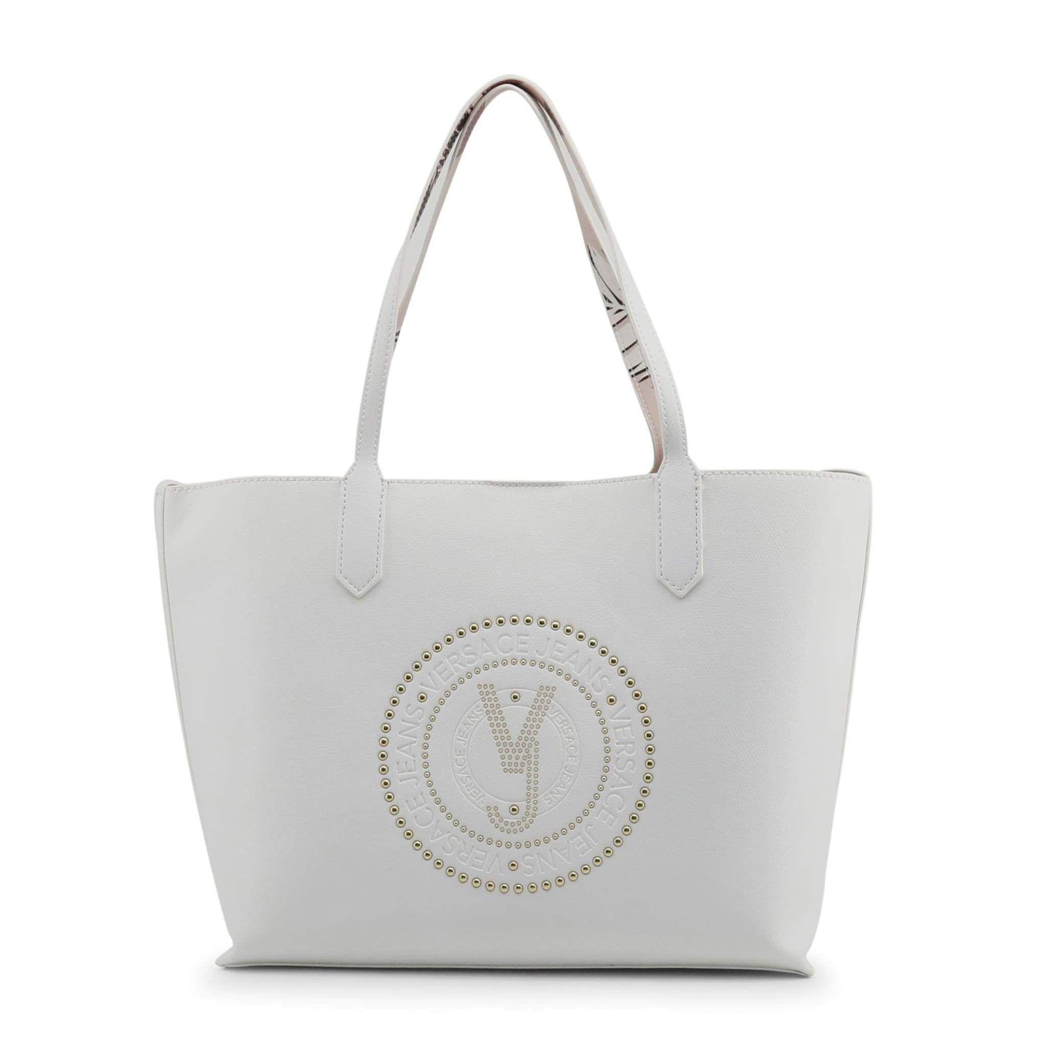 Absolutely Stunning Versace Jeans E1Vrbbqb Women White Shopping bags ... e3a9b04c42