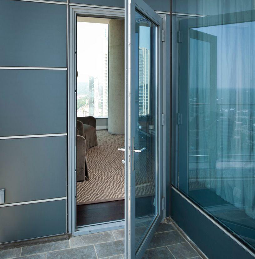 2000t Terrace Doors 2 1 4 Depth Kawneer North America