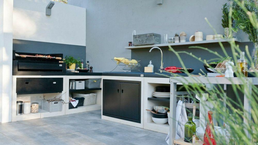 Comment aménager une cuisine d\u0027extérieur ? Lifestyle - photo cuisine exterieure jardin