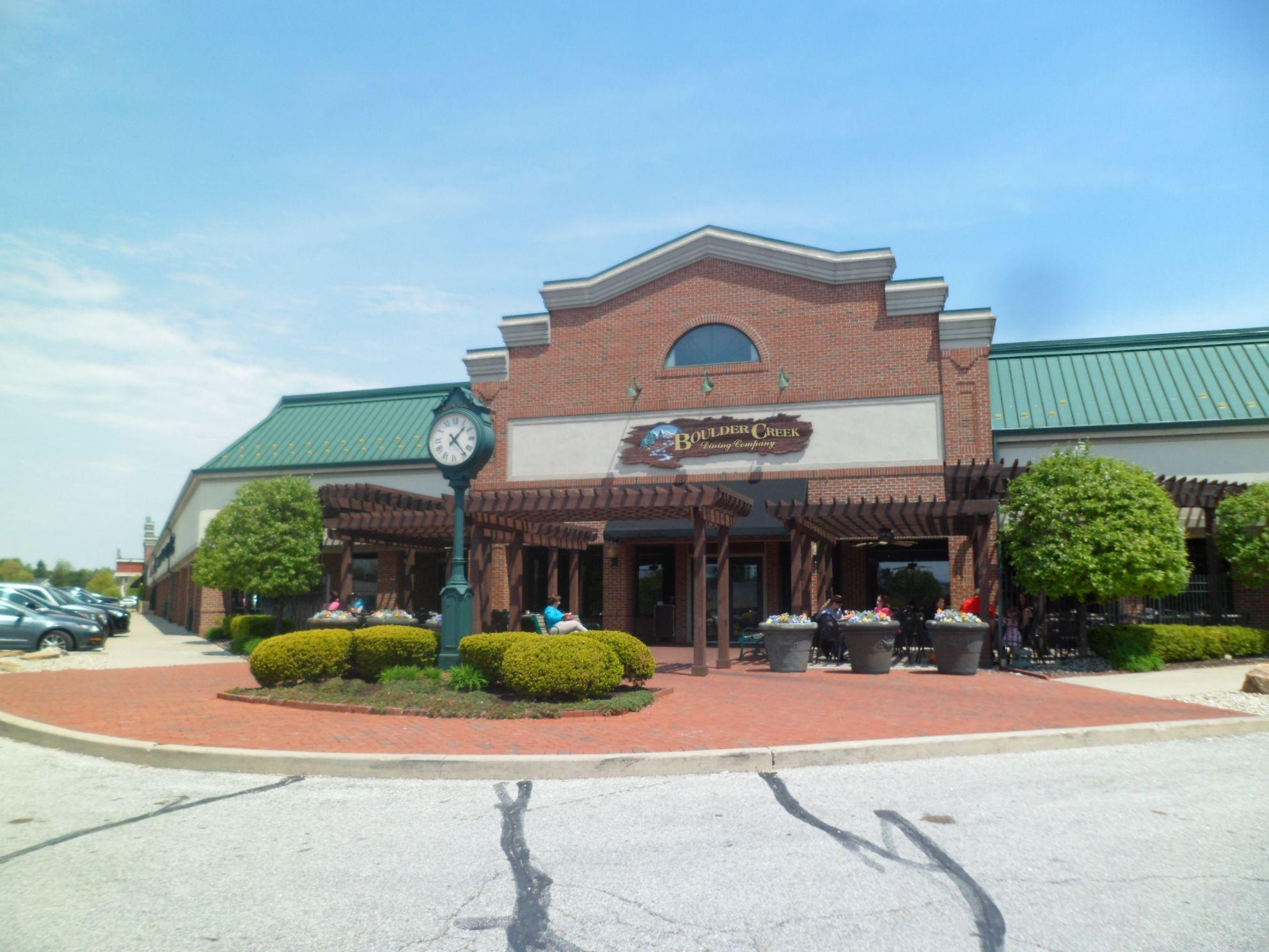 Boulder Creek Dining Company Brownsburg Indiana