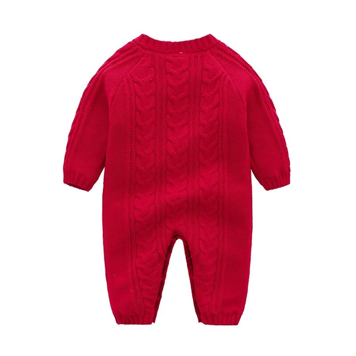 Brightup Infant Winter Footies Footed Romper Bodysuit Overalls Outfits Baby Girl and Boys Fleece Jumpsuit