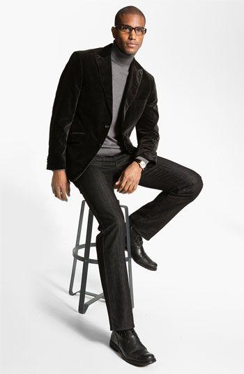 Kroon Sportcoat & BOSS Black Jeans | Nordstrom | Fashion ...