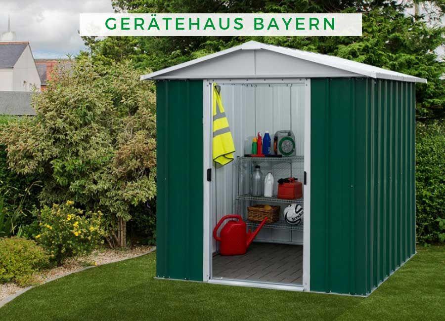 YARDMASTER Gerätehaus Bayern (mit Bildern) Schuppen