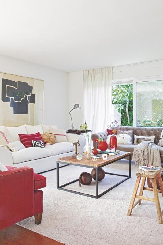 Salones frescos de revista pinterest interiores - Casa diez decoracion ...