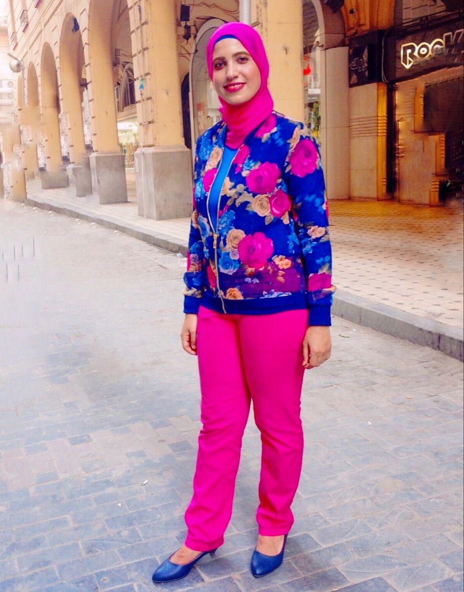 Photo of Pink hijab pants