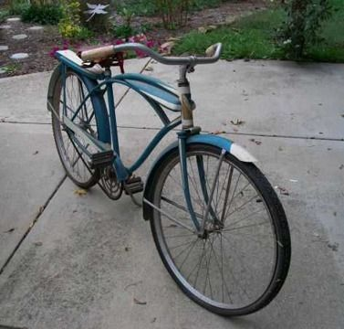 Vintage 1941 Murray Sport Crest Bicycle Louisville Ky Kentucky