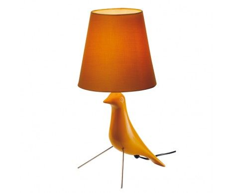 Twitter bird shape table lamp in yellowlightingbeacon lighting