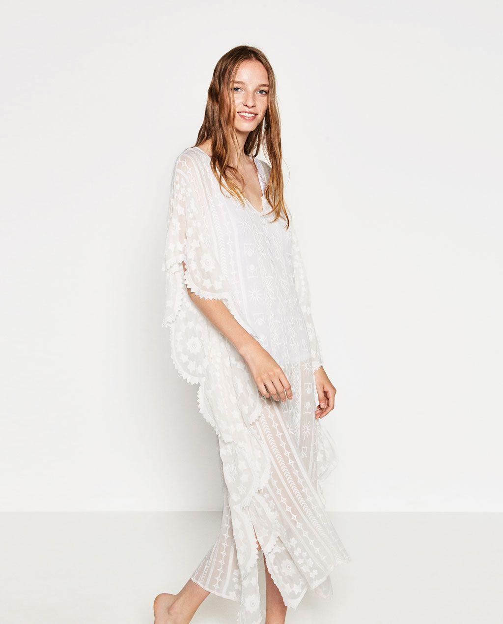 1d58b93748d EMBROIDERED KAFTAN-DRESSES-WOMAN