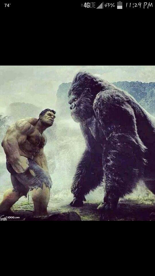 King Kong Vs Hulk Movie Hulk/King Kong ...