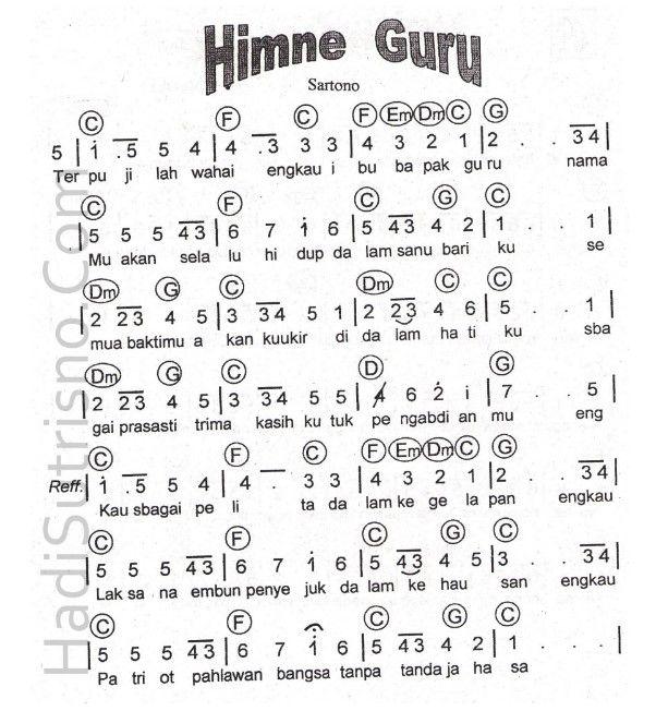 Pin Di Hymne Guru
