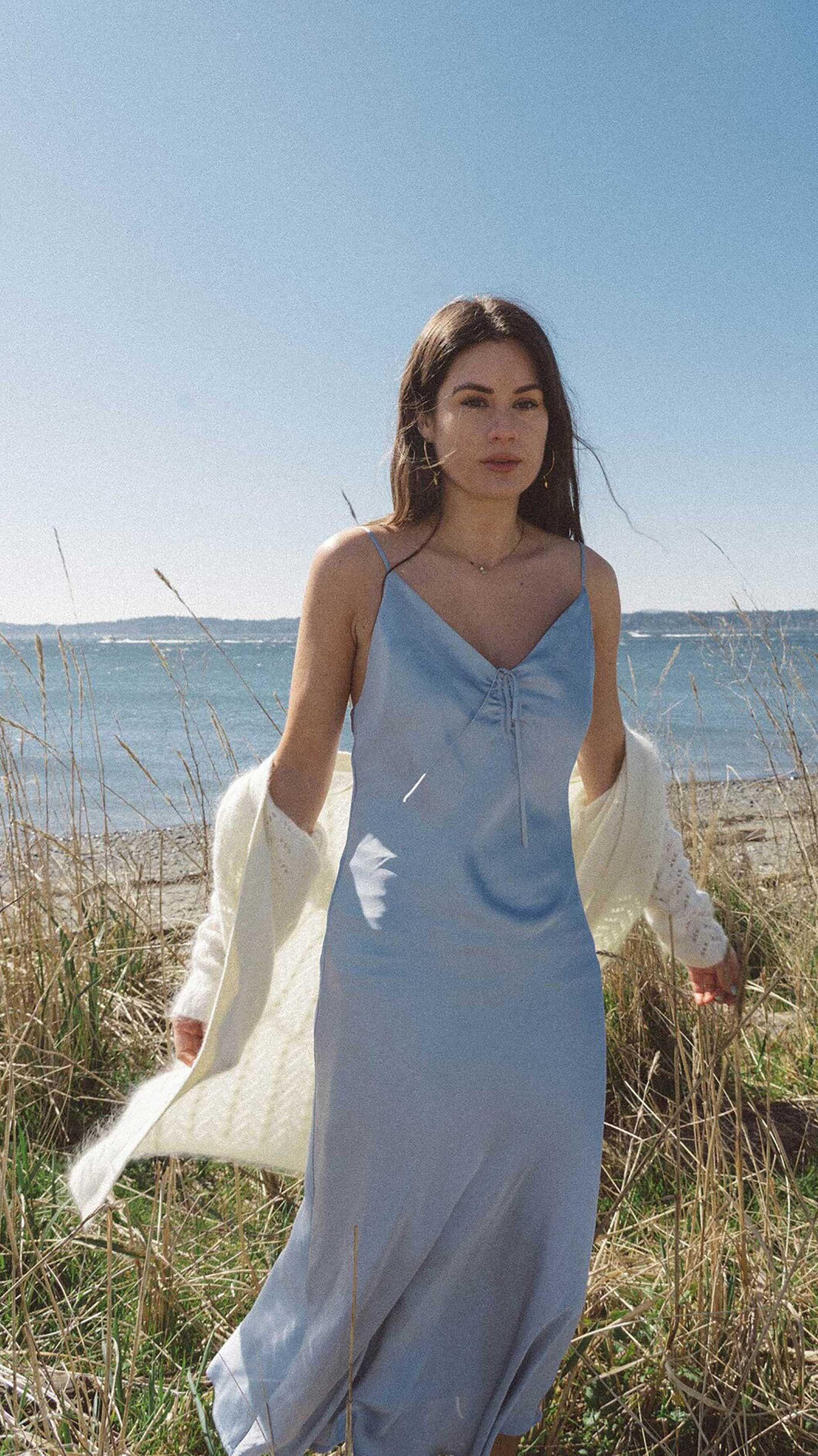 Styling Ideas For A Summer Slip Dress Sarah Christine Summer Slip Dress Slip Dress Outfit Summer Summer Dress Outfits [ 3558 x 2000 Pixel ]