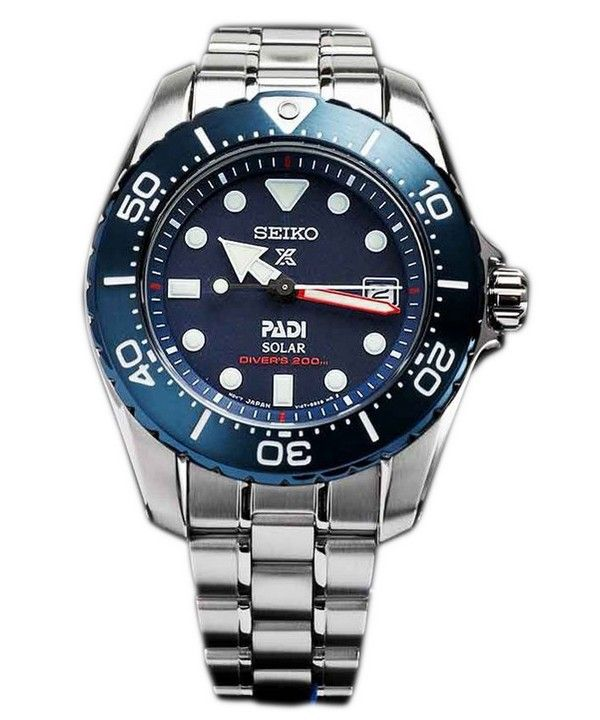 Seiko Prospex PADI Titanium Solar Divers 200M Limited Edition SBDN035 Womens  Watch 9ca0708107