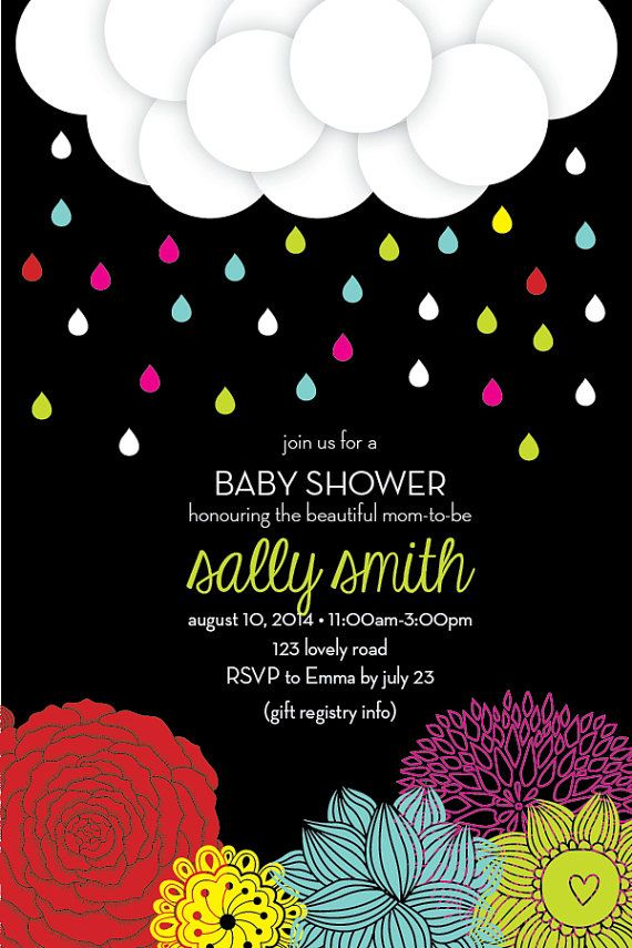 Garden baby shower invitation and printables by petitniquet, $25.50