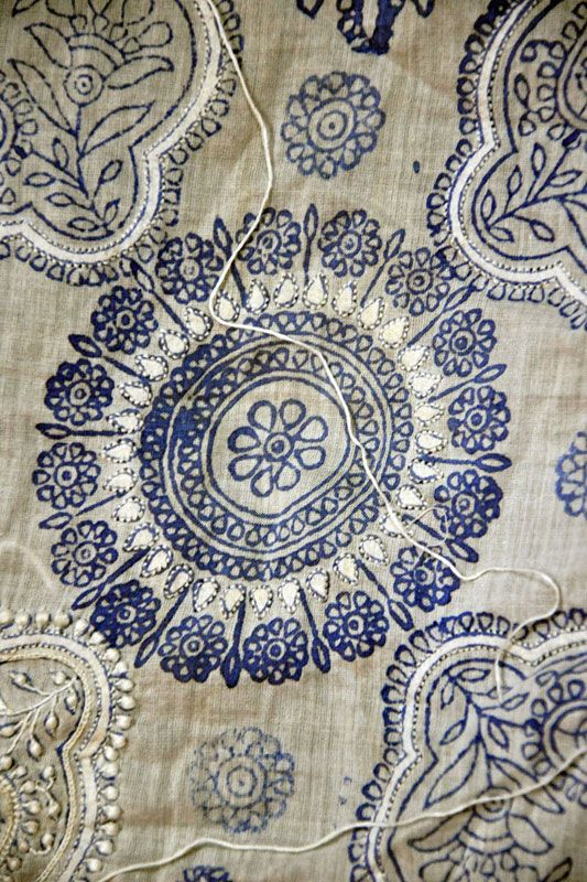 Design Resource Chikankari Embroidery Of Lucknow Ii Making