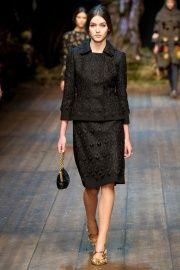 Runway — Dolce & Gabbana Fall 2014