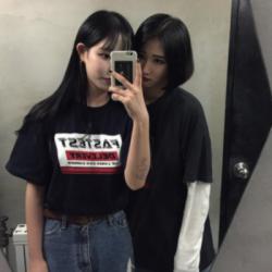 Asian lesbian solo