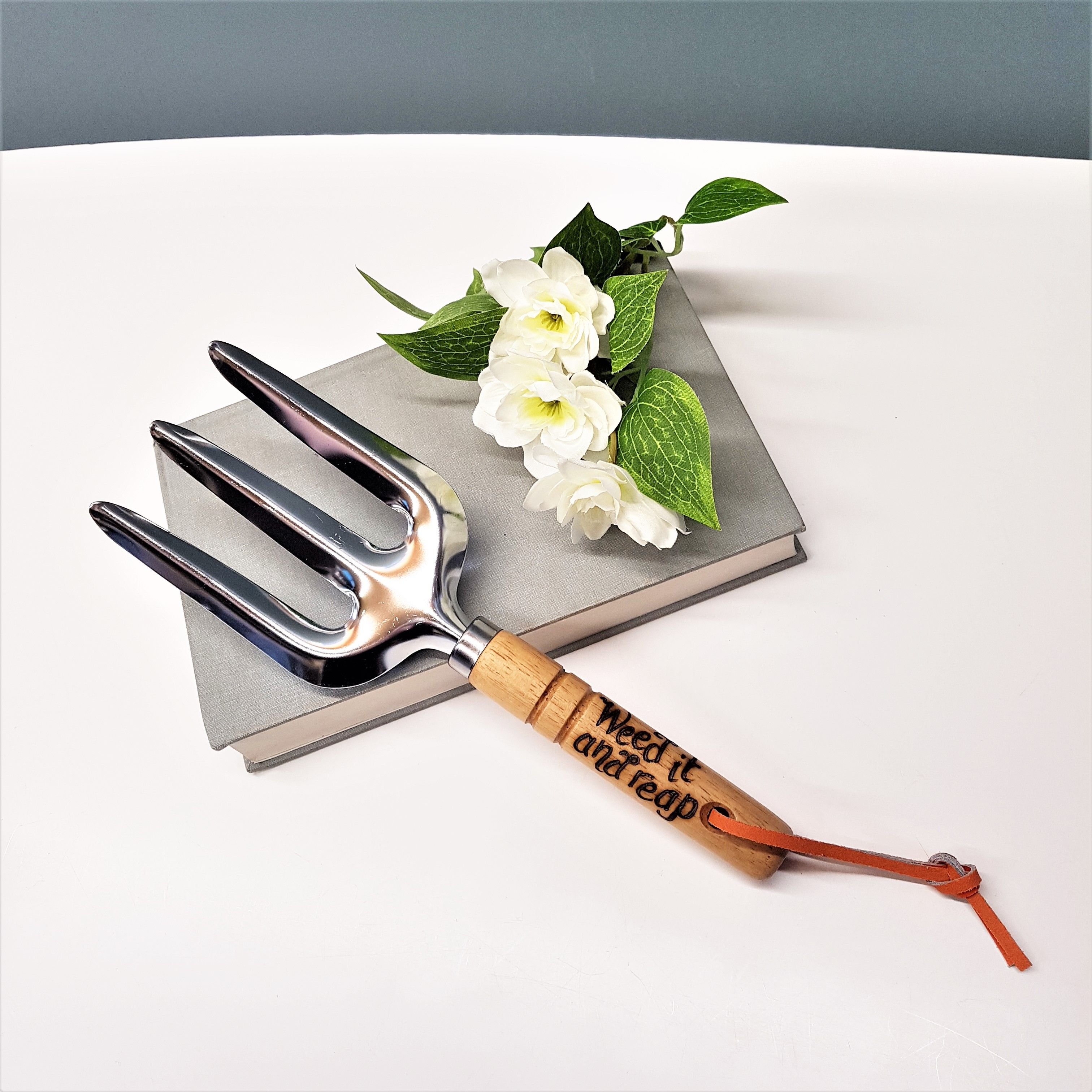 Hand engraved garden tools with your own messages hand