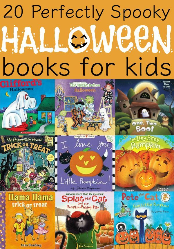 20 perfectly spooky halloween books for kids - Halloween Kids Books