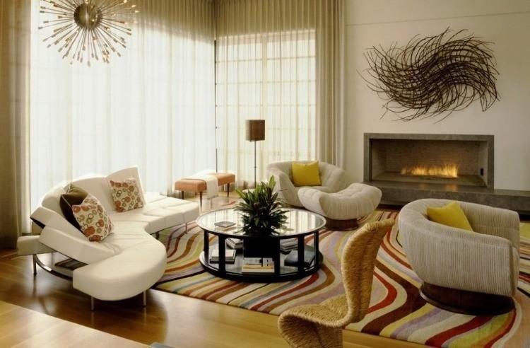 Interior Design Haus 2018 Zimmer Kamine und Dekoration von modernen