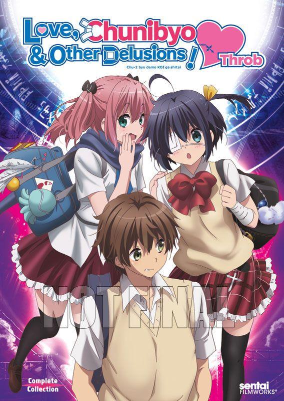 Love, Chunibyo & Other Delusions Heart Throb DVD (Hyb