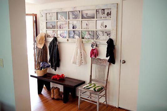Fais Maison ! Un Cadre Photo Avec Une Vieille Porte | Bricolage