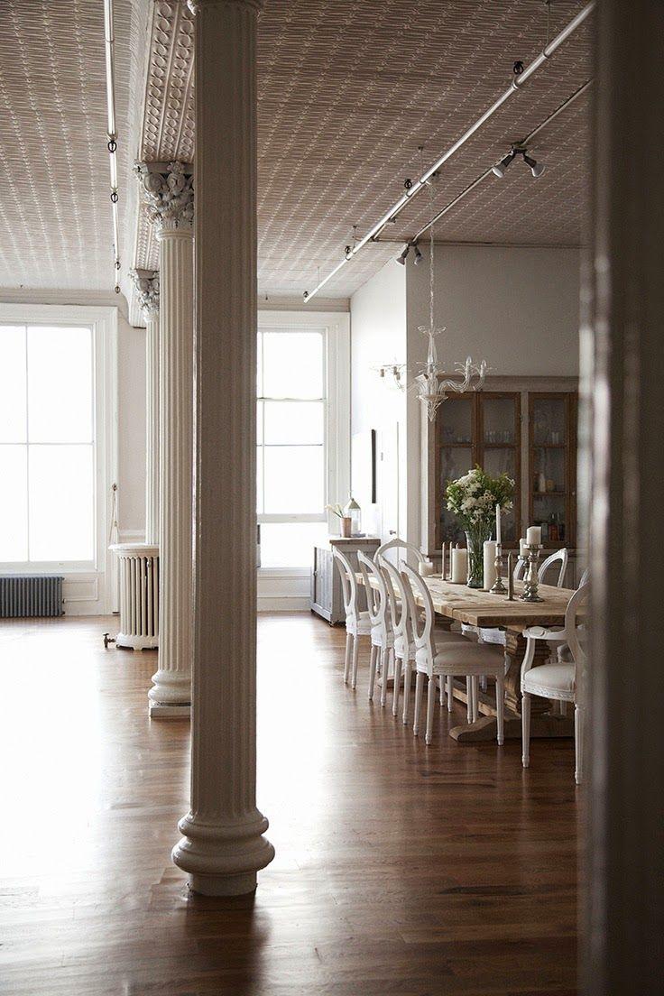 Joanna gaines hallway decor  Tendências décor pilastras  Casinha ColoridaSimoneMy blog