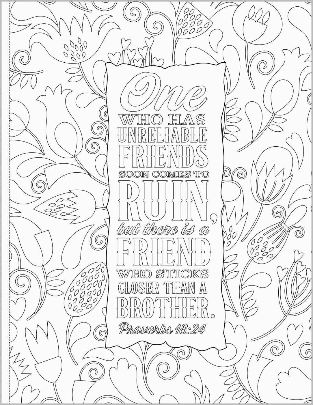 Bible Verse Coloring Pages Lovely Free Printable Bible