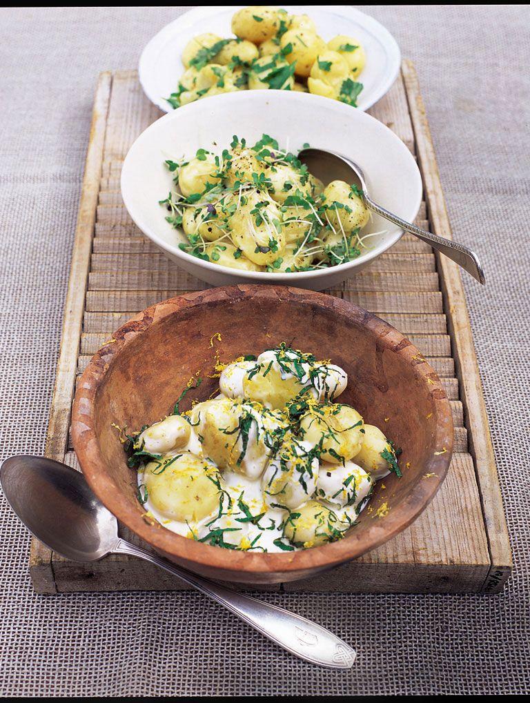 New Potato Salad With Shallots Parsley And Vinaigrette