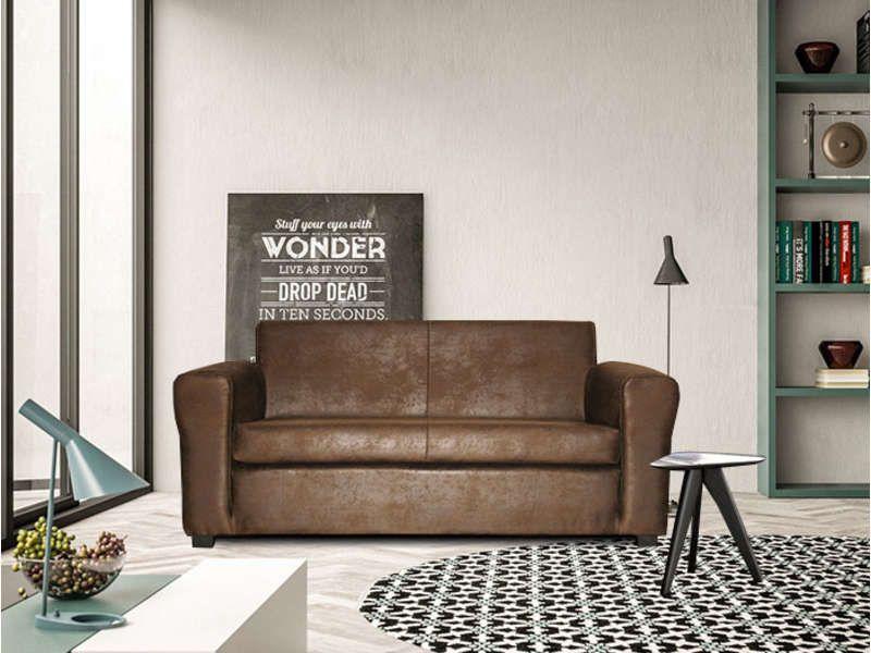 canap convertible 2 places dally pas cher c 39 est sur. Black Bedroom Furniture Sets. Home Design Ideas