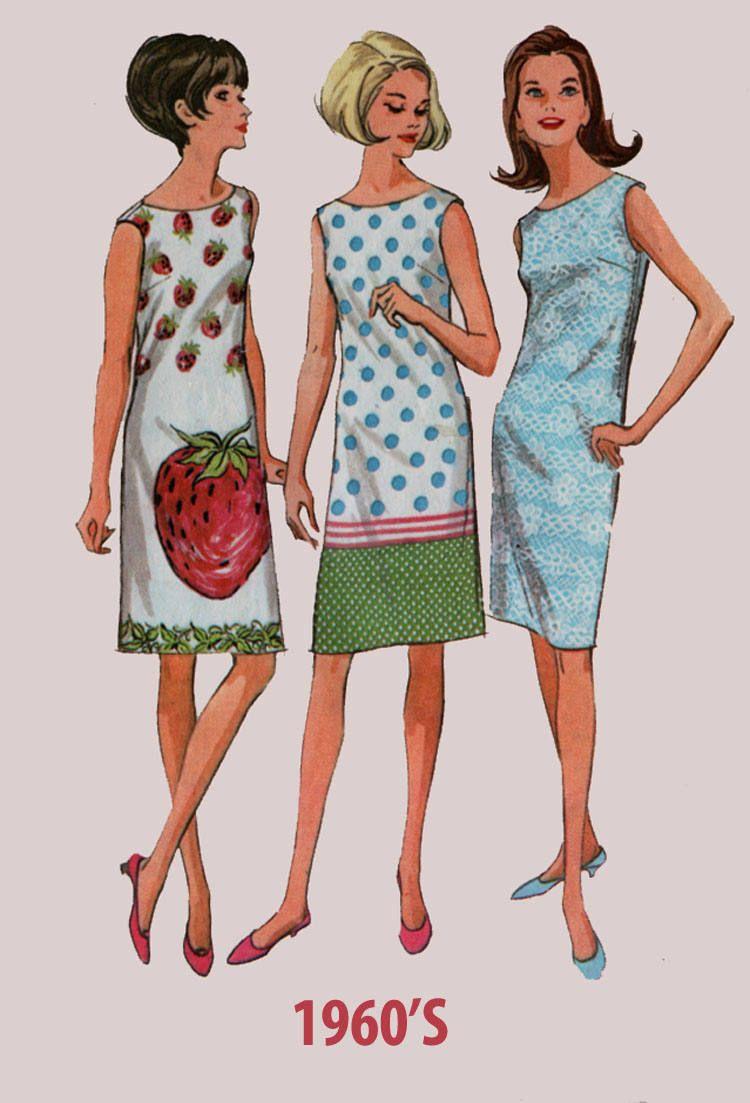Vintage 1960s Mod Sleeveless Shift Dress For Border Prints Etsy Shift Dress Pattern Vintage Patterns Mccalls Patterns Dress [ 1103 x 750 Pixel ]
