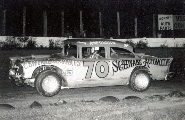 57 Chevy modified Old race cars, Vintage race car