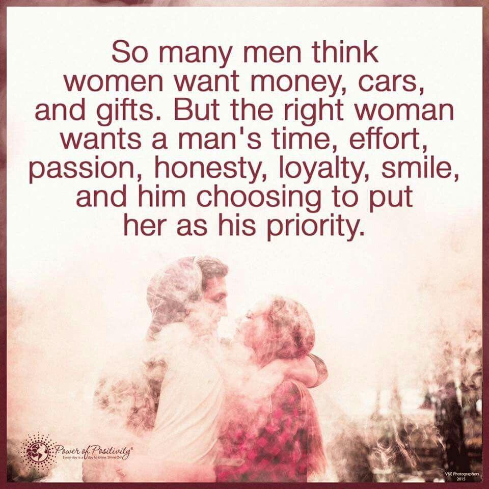 women want money